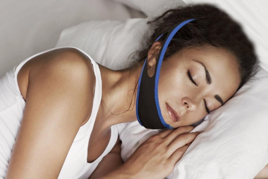 Middelen tegen snurken - anti snurk hoofdband