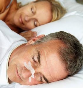 Anti snurk middelen neuspleisters