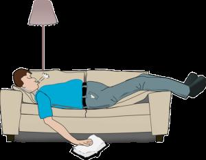 Anti snurk middelen - snurkende man