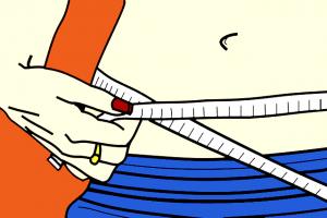 Snurken en overgewicht: afvallen