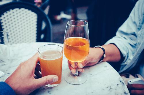 Snurken stoppen door te matigen met alcohol